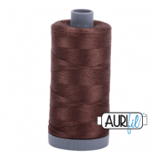 Aurifil 28 Cotton Thread - 1285 (Dark Brown)